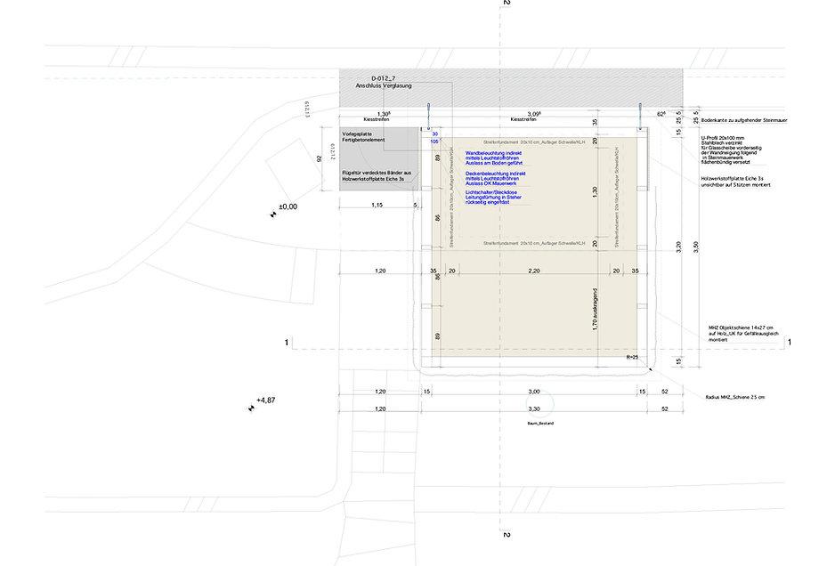 Atelier Querlaengs | Projekte | Architekten | Ziviltechniker | Salzburg | Schlafhaus mit Wasser Heuberg | grundriss