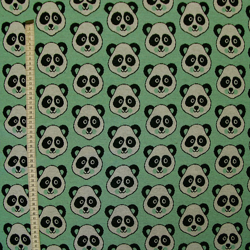Pattern Love - Panda - mint