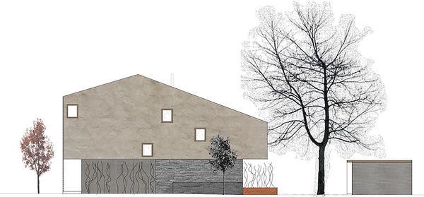 Atelier Querlaengs | Projekte | Architekten | Ziviltechniker | Salzburg | EFH Fritzer | ansicht-nord