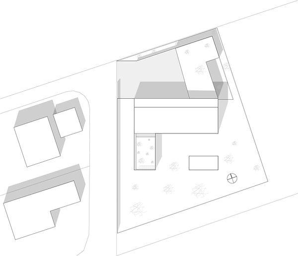 Atelier Querlaengs | Projekte | Architekten | Ziviltechniker | Salzburg | EFH Loindl | lageplan