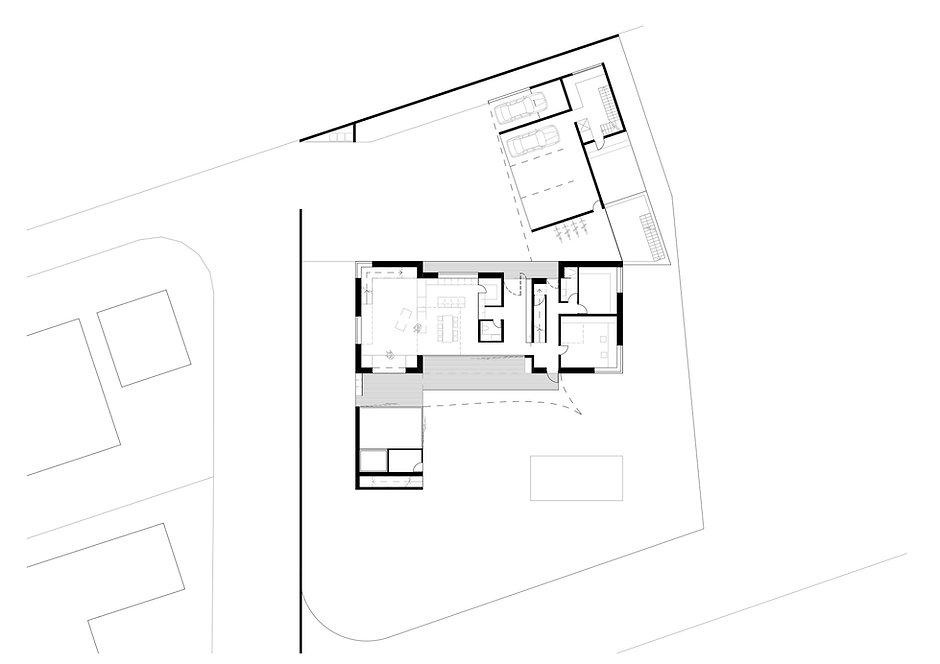 Atelier Querlaengs | Projekte | Architekten | Ziviltechniker | Salzburg | EFH Loindl | erdgeschoss