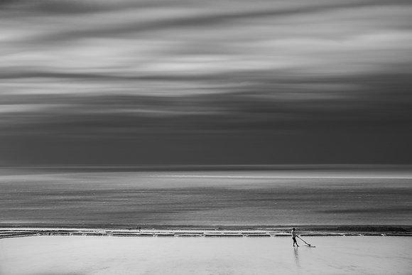 Fotografie Kunstwerk ***Salt Worker*** - Joachim Bergauer