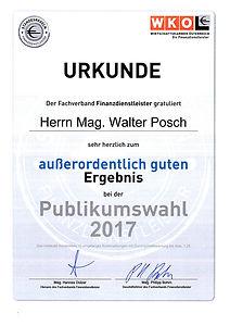 WKO Auszeichnung 2017