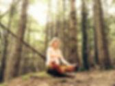 Wirkende Kraft Bianca Leierer Golling Yoga für Schwangere Meditation Wald Golling Hallein Tennengau Salzburg