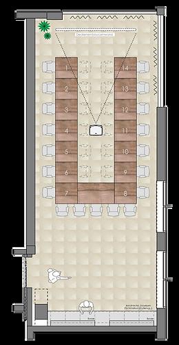 Seinarraum für Workshops, Meetings & Präsentationen im TT Aparthotel Neuhofen/Krems