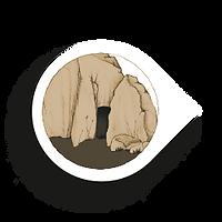 Fit & Bewegt durch Adnets Marmorbrüche. Die 13 Stationen des Abenteuers am Marmorweg: 2 - Höhle