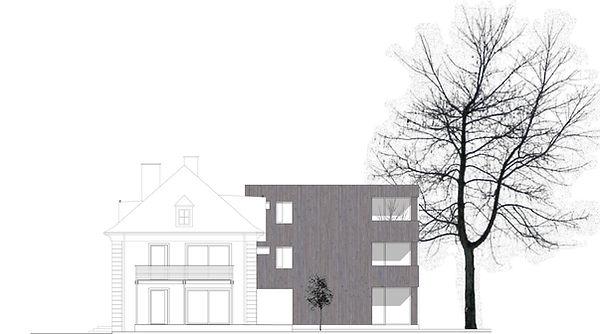 Atelier Querlaengs | Projekte | Architekten | Ziviltechniker | Salzburg | Aignerstraße | ansicht_sued