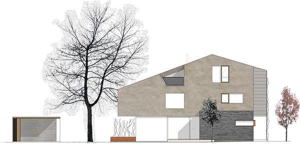 Atelier Querlaengs | Projekte | Architekten | Ziviltechniker | Salzburg | EFH Fritzer | ansicht-sued