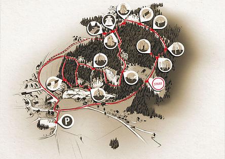Für Kinder gibt es in den Marmorbrüchen in Adnet spannende Stationen wie Klettern, Tempelhüpfen, Höhlenforschen, Stoanamandlbauen uvm.