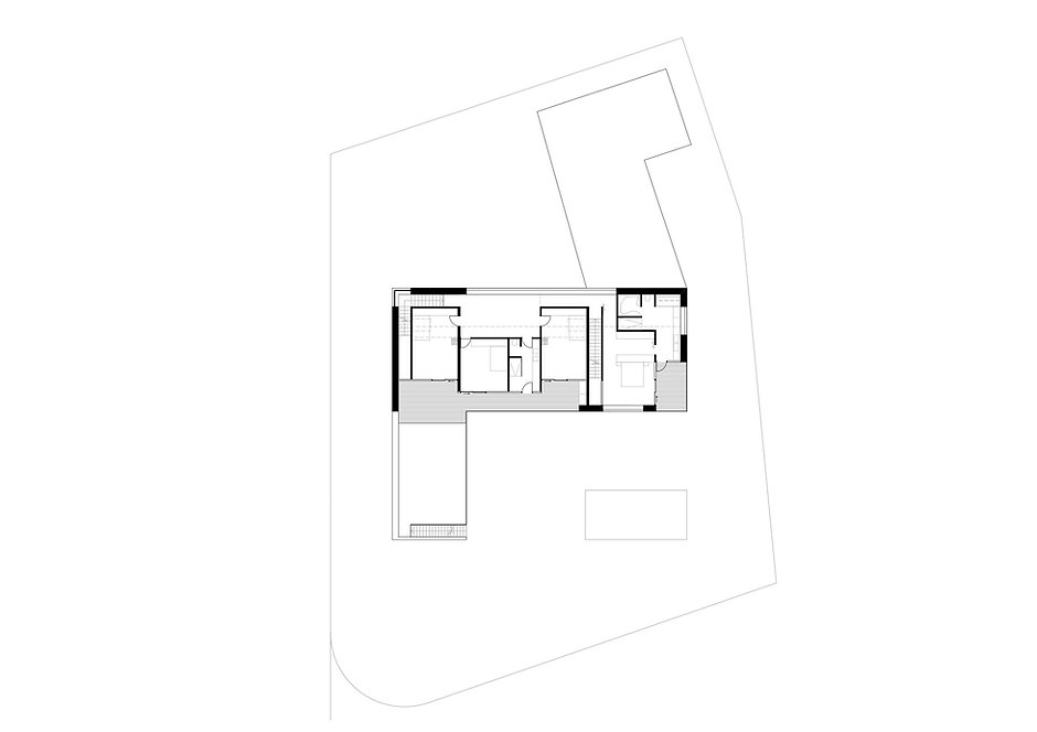 Atelier Querlaengs | Projekte | Architekten | Ziviltechniker | Salzburg | EFH Loindl | Obergeschoß