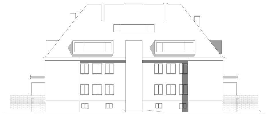 Atelier Querlaengs | Projekte | Architekten | Ziviltechniker | Salzburg | Dachausbau Erzabt Klotz Straße | ansicht_1