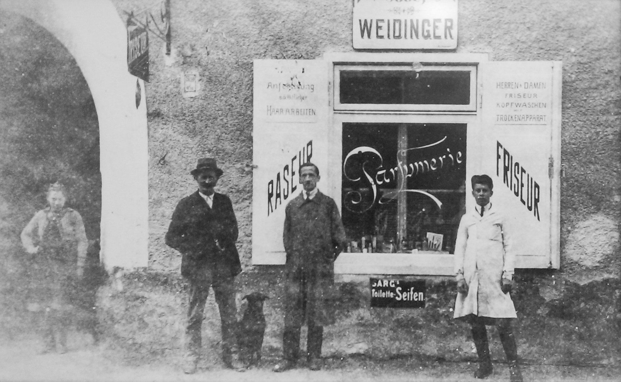 Friseur Weidinger Geschichte