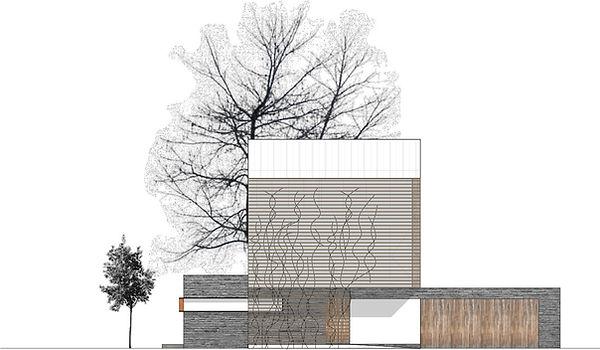 Atelier Querlaengs | Projekte | Architekten | Ziviltechniker | Salzburg | EFH Fritzer | ansicht-ost