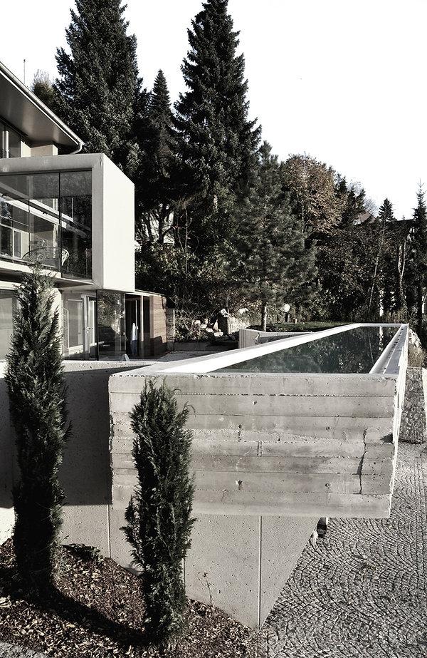 Atelier Querlaengs | Projekte | Architekten | Ziviltechniker | Salzburg | Schlafhaus mit Wasser Heuberg