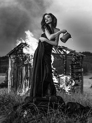Fotografie Kunst ***Fire Worker*** - Joachim Bergauer