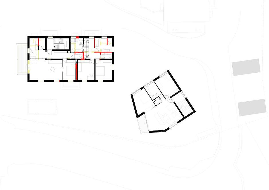 Atelier Querlaengs | Projekte | Architekten | Ziviltechniker | Salzburg | Aignerstraße | obergeschoss