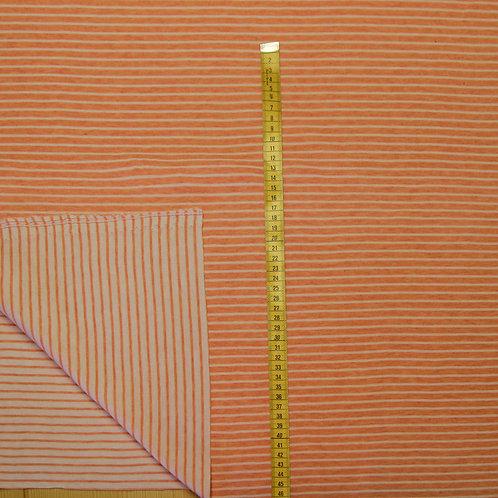 Double Stripes GOTS - Hamburger Liebe - patio/weiß