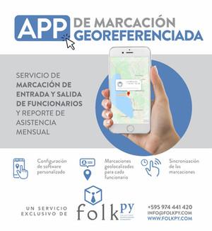 App de Marcación Georeferenciada para Personales