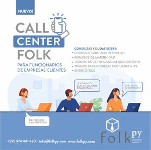 Call Center de Folk - Exclusivo para Clientes de Payroll