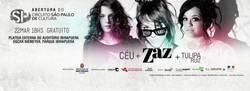 Show ZAZ + Tulipa Ruiz + Céu