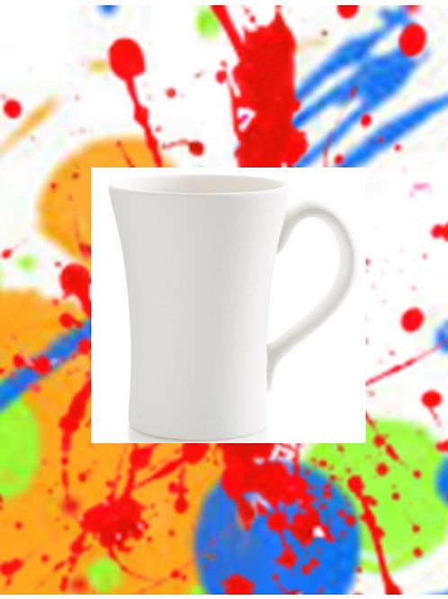 Swoop Mug 4.25D x 5.5H