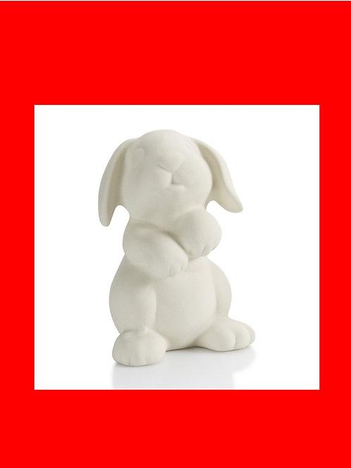 """Animal Bunny 4.5"""" H"""