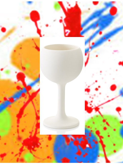 Red Wine Goblet 6.75H x 3D