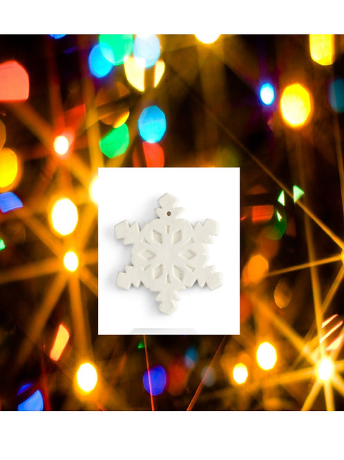 Snowflake Ornament (flat)