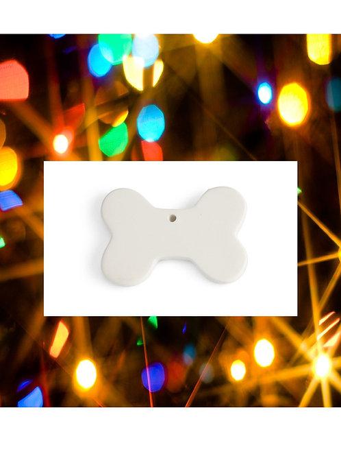 Bone Flat Ornament