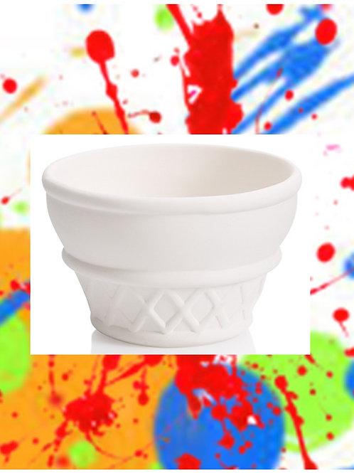 Ice Cream Bowl 4.5D x 3H