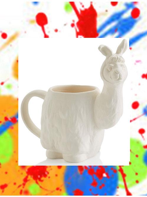 Llama Mug 6.5H x 6.5W