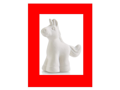 "Tiny Topper Unicorn 2"" H"