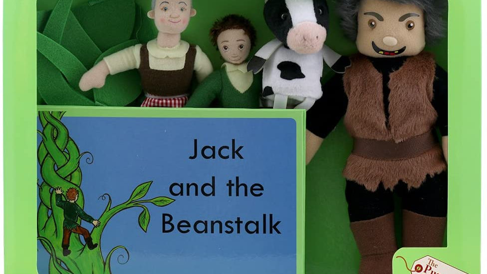 Traditional Story Set - Jack and the Beanstalk.