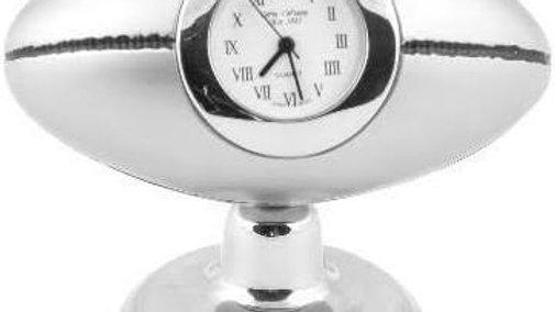 Miniature Rugby ball Clock.