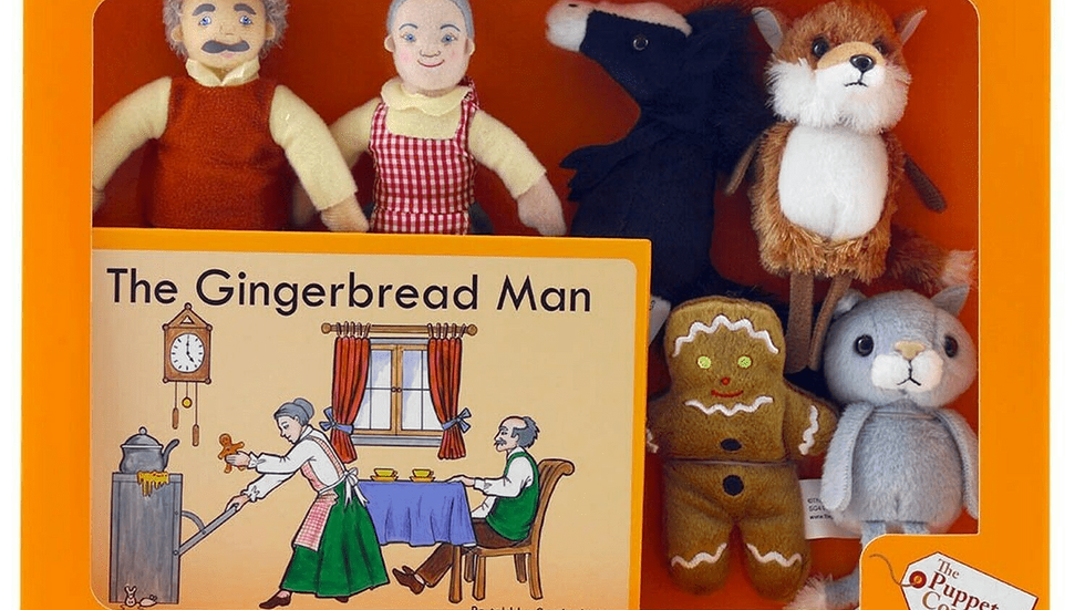 Traditional Story Set - The Gingerbread Man.