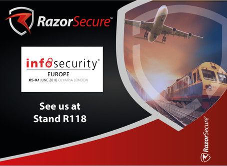See you at Stand R118 at Infosec 2018