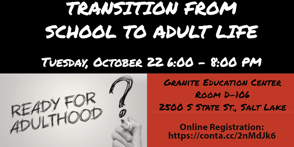 Transition From School To Adult Life
