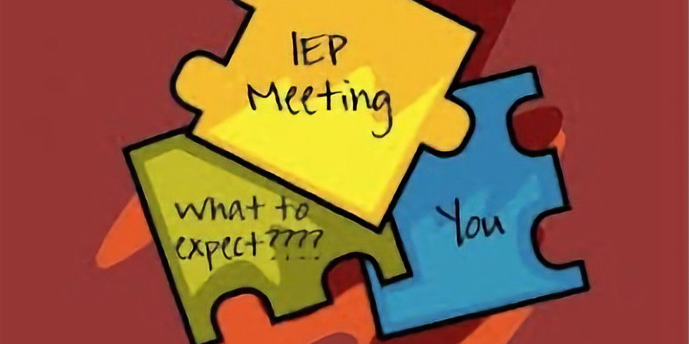 FREE IEP Workshop for Parents ~ Parents as Partners in the IEP Process