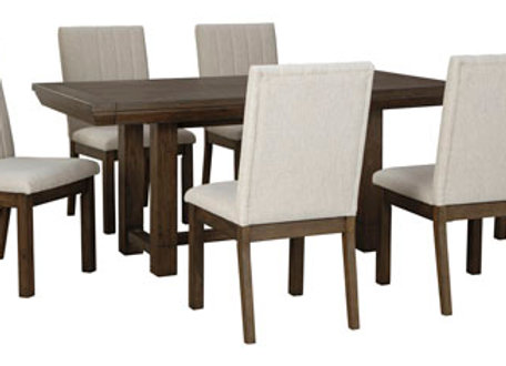 Dellbeck 7 PC Dining Table Set