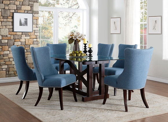 7 PC Dining Table Set