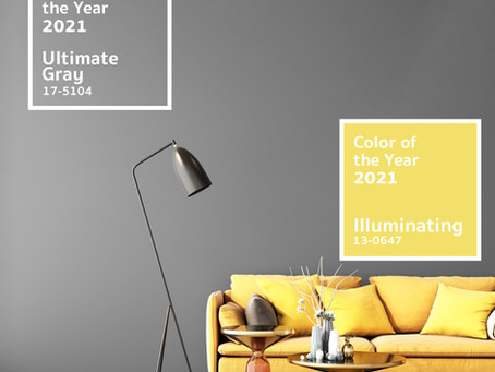 Pantone Colour Trends 2021: How to style with Ultimate Gray and Illuminating Yellow