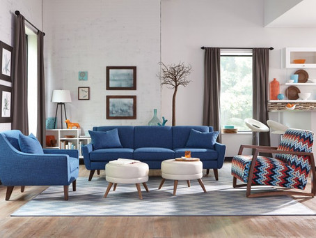 """Decorating with Blue the """"new neutral"""""""