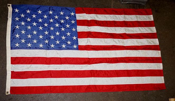 50 Stars American Flag Mfg By Nyi Glo