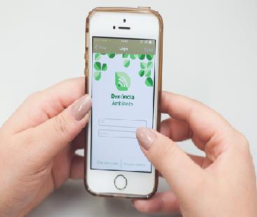 No estado de São Paulo denúncias Ambientais são realizadas pelo celular