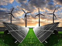 As energias renováveis estão em crescente expansão