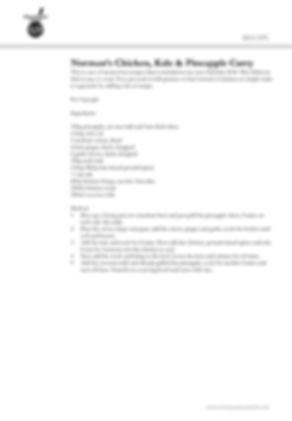 Prawn Recipe