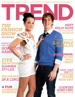 Featured Cover for TREND Magazine