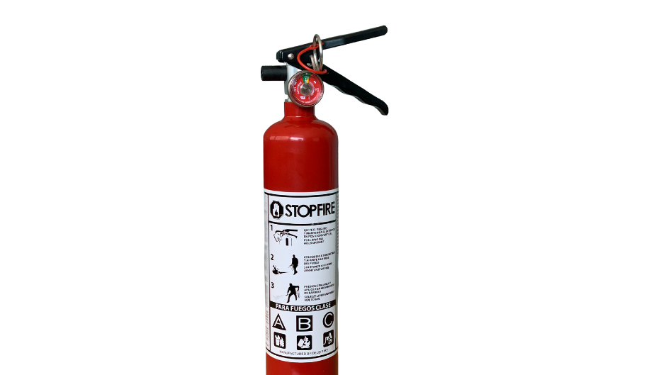 EXTINTOR STOP FIRE 2.5 LBS PQ ABC