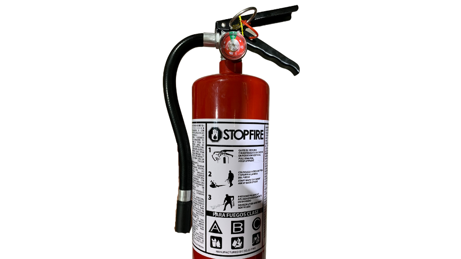 EXTINTOR STOP FIRE 5 LBS ABC