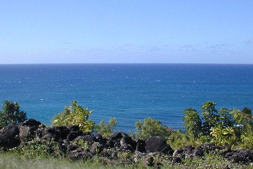 Navel of the World, Ke'e Heiau and Beach, Kauai Sacred Site Essence
